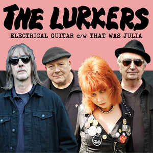 "vinyl 7"" SP LURKERS Electrical Guitar"
