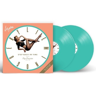vinyl 2LP KYLIE MINOGUE STEP BACK IN TIME: THE DEFINITIVE COLLECTION