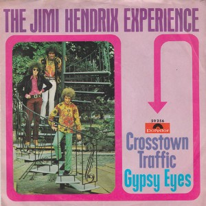 "vinyl 7""SP THE JIMI HENDRIX EXPERIENCE Crosstown Traffic"