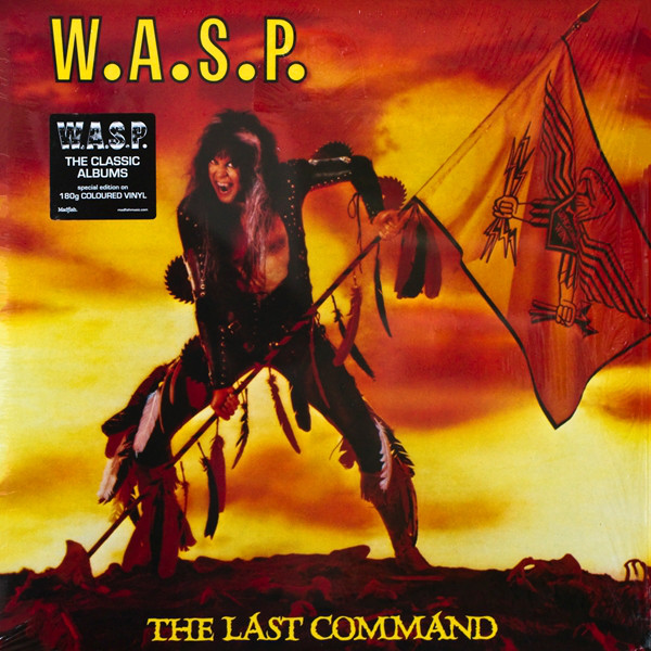 vinyl LP W.A.S.P. The Last Command