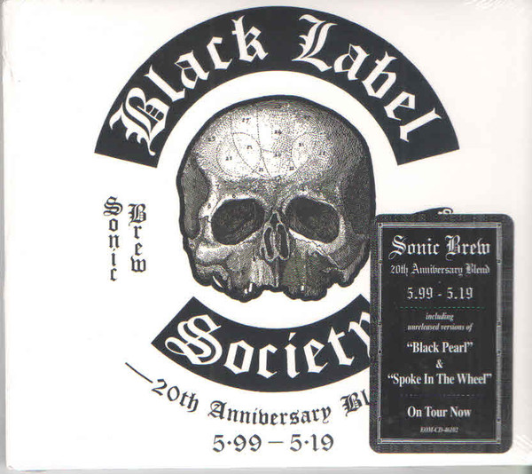 vinyl 2LP BLACK LABEL SOCIETY Sonic Brew