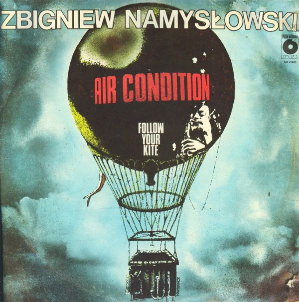 vinyl LP ZBIGNIEW NAMYSLOWSKI AIR CONDITION Follow Your Kite