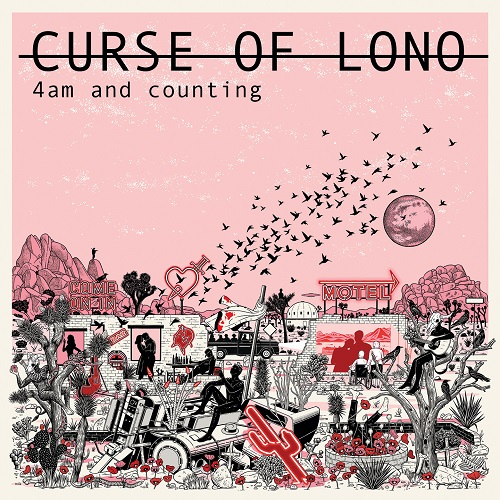 vinyl LP Curse of Lono Four Am and Counting