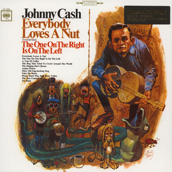 vinyl LP JOHNNY CASH Everybody Loves A Nut