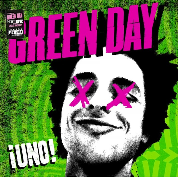 vinyl LP GREEN DAY Uno