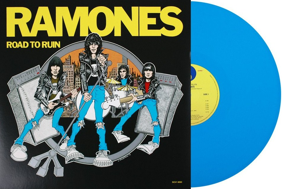 vinyl LP RAMONES Road To Ruin