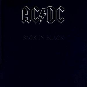 vinyl LP AC/DC Back In Black