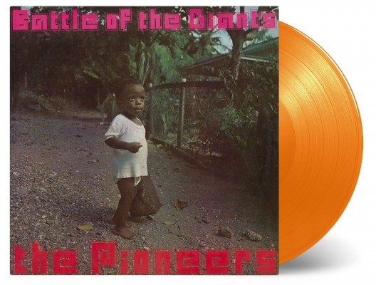 vinyl LP PIONEERS Battle Of The Giants