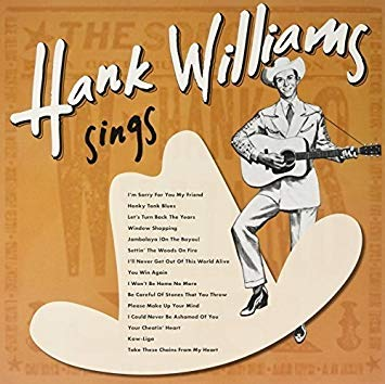 vinyl LP HANK WILLIAMS Sings