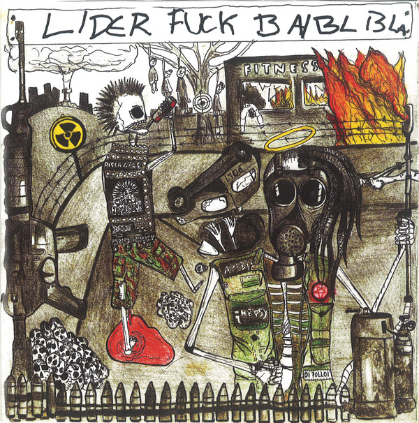 "vinyl 7"" EP LEADERS OF THE FUCKING ASSHOLES / BARBAR Leaders Of The Fucking Assholes / Barbar"