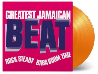 vinyl LP V/A GREATEST JAMAICAN BEAT (ROCK STEADY BABA BOOM TIME)