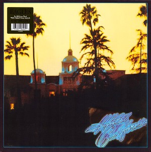 vinyl LP EAGLES, THE HOTEL CALIFORNIA