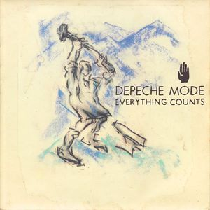 "vinyl 7""SP DEPECHE MODE Everything Counts"