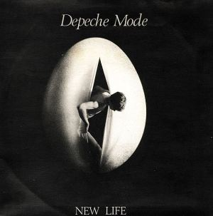 "vinyl 7""SP DEPECHE MODE New Life"