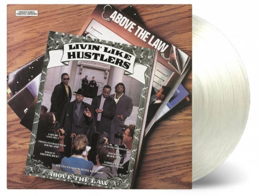vinyl LP ABOVE THE LAW Livin´ Like Hustlers