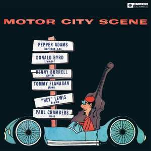vinyl LP  Pepper Adams, Donald Byrd ‎– Motor City Scene