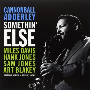 vinyl LP  Cannonball Adderley ‎– Somethin' Else