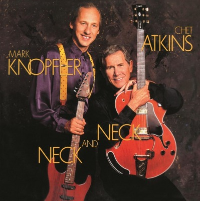 vinyl LP CHET ATKINS & MARK KNOPFLER Neck And Neck