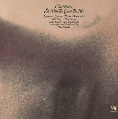 vinyl LP CHET BAKER She Was Too Good To Me