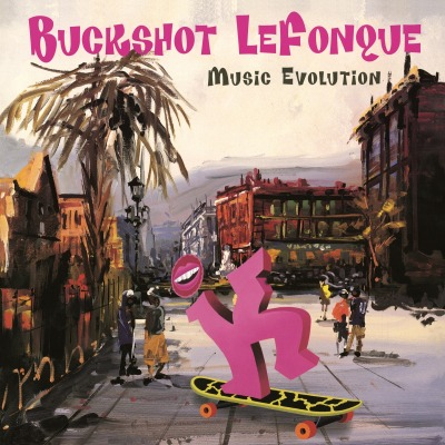 vinyl LP BUCKSHOT LEFONQUE MUSIC EVOLUTION
