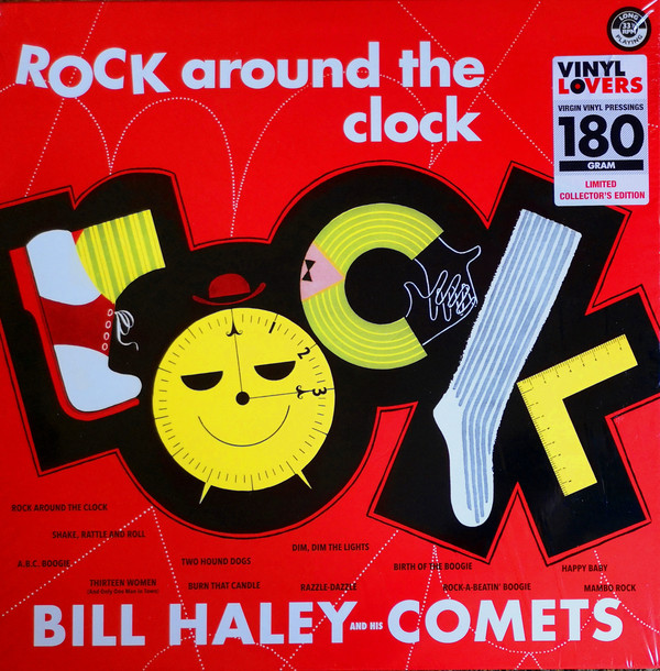 vinyl LP BILL HALEY AND THE COMETS Rock Around The Clock