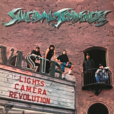 vinyl LP SUICIDAL TENDENCIES LIGHTS CAMERA REVOLUTION