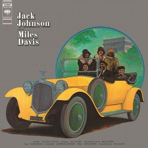 vinyl LP MILES DAVIS JACK JOHNSON
