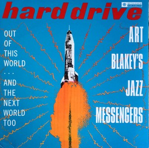 vinyl LP  Art Blakey & The Jazz Messengers ‎– Hard Drive