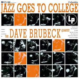 vinyl LP THE DAVE BRUBECK QUARTET JAZZ GOES TO COLLEGE