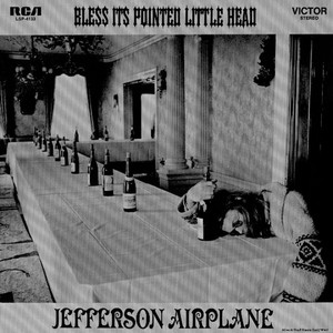 vinyl LP JEFFERSON AIRPLANE BLESS ITS POINTED LITTLE HEAD