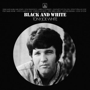 vinyl LP TONY JOE WHITE BLACK & WHITE