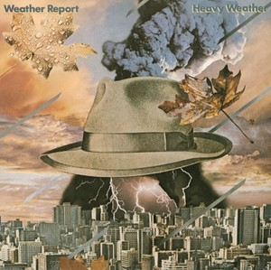 vinyl LP WEATHER REPORT HEAVY WEATHER