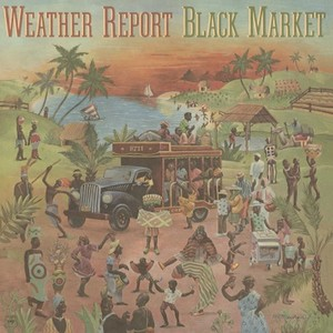 vinyl LP SABLONA WEATHER REPORT BLACK MARKET