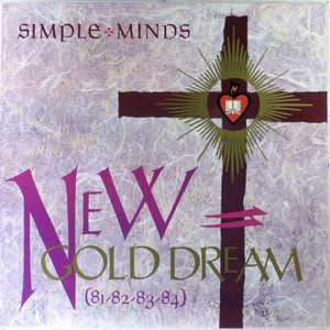 vinyl LP  Simple Minds ‎– New Gold Dream (81-82-83-84)
