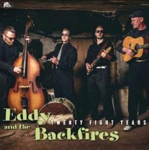 vinyl LP Eddy & the Backfires Twentyfight Year