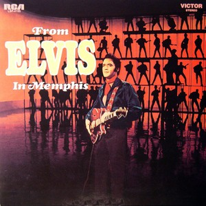 vinyl LP ELVIS PRESLEY FROM - ELVIS IN MEMPHIS