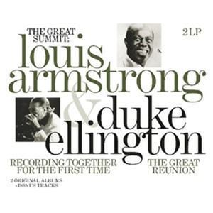 vinyl 2LP Louis Armstrong And Duke Ellington ‎– The Great Summit
