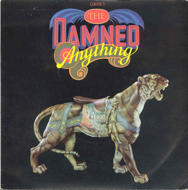 "vinyl 12""maxi SP THE DAMNED Anything"