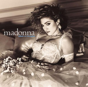 vinyl LP MADONNA Like a Virgin (clear vinyl)