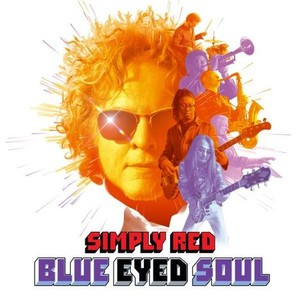 vinyl LP SIMPLY RED - BLUE EYED SOUL