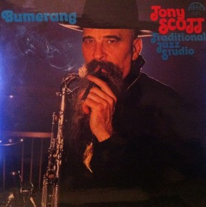 vinyl LP Tony Scott, The Traditional Jazz Studio ‎– Bumerang