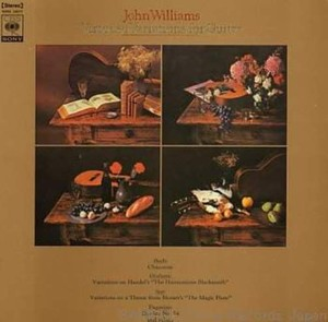 vinyl LP John Williams ‎– Virtuoso Variations For Guitar