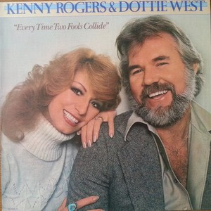 vinyl LP Kenny Rogers & Dottie West ‎– Every Time Two Fools Collide