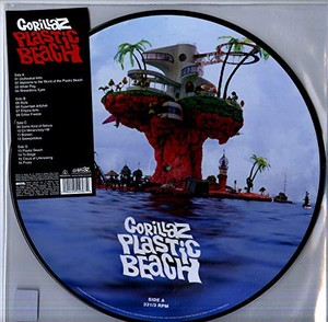 vinyl 2LP Gorillaz ‎– Plastic Beach (Picture Disc)