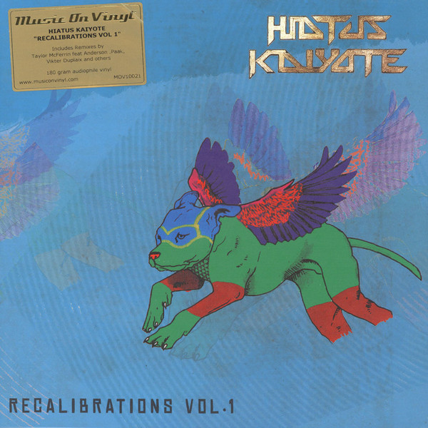 "vinyl 10"" HIATUS KAIYOTE Recalibrations Vol.1"