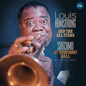 vinyl 2LP ARMSTRONG LOUIS Satchmo At Symphony Hall