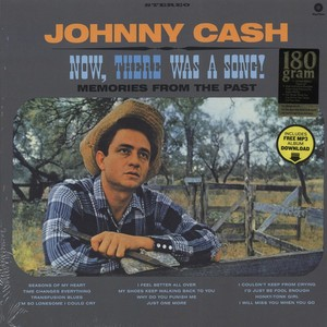 vinyl LP Johnny Cash ‎– Now, There Was A Song!