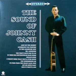 vinyl LP Johnny Cash  The Sound Of Johnny Cash