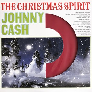 vinyl LP Johnny Cash ‎– The Christmas Spirit