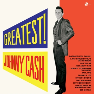 vinyl LP JOHNNY CASH Greatest!